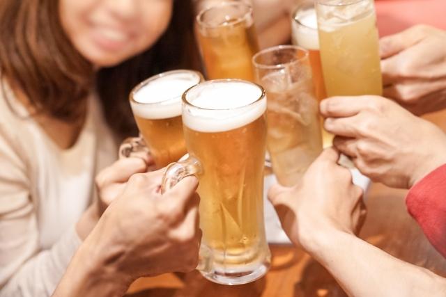 飲み会が多い時期は要チェック!飲み会で太らない方法